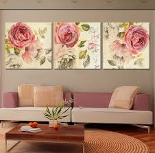 painting frame quality painting directly from china paintings manet suppliers 3 piece wall art painting classic flower rose canvas prints