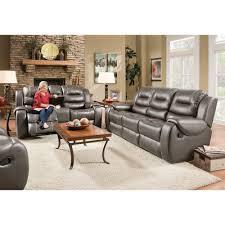 Reclining Living Room Sets Titan Living Room Reclining Sofa Loveseat Steel 71407