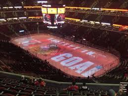 United Center Section 313 Home Of Chicago Blackhawks