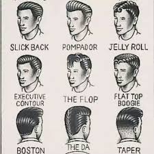 21 Grooming Charts Every Guy Needs To See Greaser Hair
