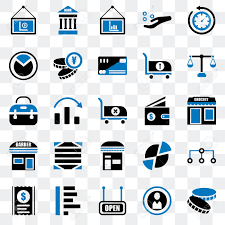 Set Of 25 Transparent Icons Such As Coin Open Graph Receipt