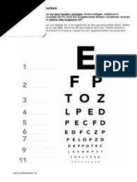 Hier der sehtest zum ausdrucken im pdf format 187 kb dieser sehtest ist nicht für kinder geeignet da er buchstaben zeigt. Sehtest Ausdrucken Sehschaerfe Buchstaben Pdf