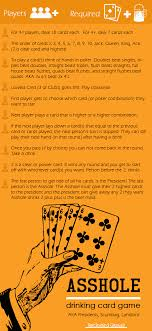 Rules for asshole card game