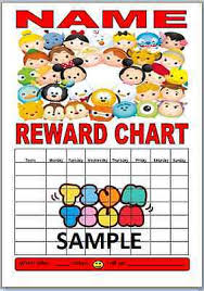 Disney Tsum Tsum Sticker Reward Chart For Kids 2 60
