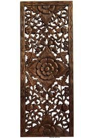 home décor fl wood wall art