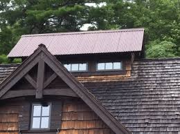 you ll get the appearance of rusted metal while still retaining all of the reliability of a b m metal roof rusted metal roofing brochure