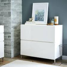modern file cabinet. Modern White Filing Cabinet Lacquer Storage Modular Lateral File . Contemporary