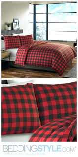 red and black plaid flannel duvet cover plaid flannel duvet covers flannel plaid duvet cover king ed bauer mountain plaid scarlet comforter duvet set