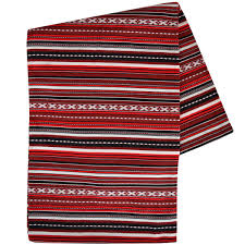 striped blanket  red burgundy  paros  urbanfolkeu