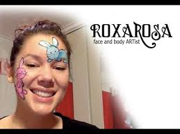 Small Picture RoxaRosa face paint tutorial bunny YouTube