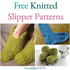 Knit Slipper Pattern