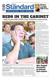 The Press Cabinet The Standard 2016 May 17 Tuesday By Manila Standard Issuu