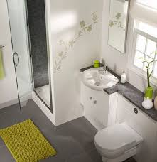 Green And Grey Different Stunning Colors For Small Bathroom Designs