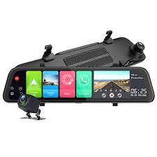 Camera hành trình gương ô tô cao cấp Phisung Z68 tích hợp 4G, Wifi, 12  inch, hệ điều hành android 8.1 OS | DC THẾ GIỚI PHỤ KIỆN CÔNG NGHỆ Ô TÔ