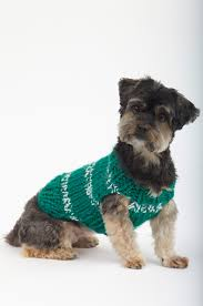 Knit Dog Sweater Pattern