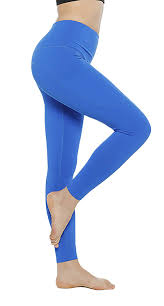 Light Blue Tights Amazon Youstylo You Are Priority Womens Polyester Gym Yoga Tights Pants With Pocket 1024 Light Blue