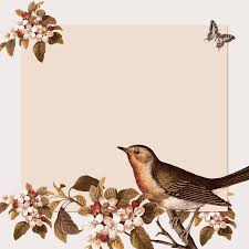 vintage birds background. Plain Background BIG IMAGE PNG Intended Vintage Birds Background D