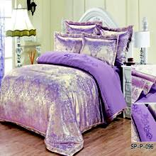 Purple bedspreads king size online shopping-the world largest ... & Luxury Silk Bedding Set Embroidery Bed Linens Satin duvet cover set  Jacquard Bedclothes Queen/King Adamdwight.com