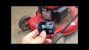 Lawnmower <b>Tachometer</b> / <b>Hour</b> Meter Install - YouTube
