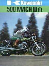 kawasaki motorcycle service manuals kawasaki h1 500 mach iii vintage advertisement