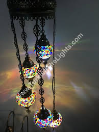 5 ball turkish mosaic chandelier lamp c5 106 hover to zoom 5 ball turkish mosaic chandelier