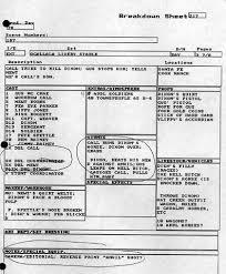 script breakdown sheet 10 screenwriting myths debunked raindance