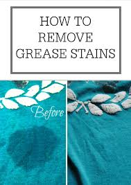 how to remove grease sns simple