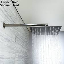 brushed nickel shower system. Brushed Nickel Rain Shower Heads System N
