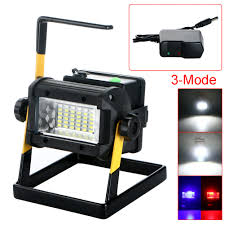 rechargeable 50w 36led portable led flood spot work