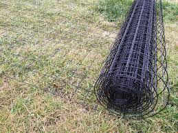 black welded wire fence. Image Of: Awesome Wire Fencing Rolls Black Welded Fence