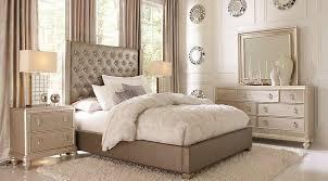 Sofia Vergara Paris Silver 7 Pc Queen Upholstered Bedroom Queen For Bedroom  Decor Sets Design Ideas