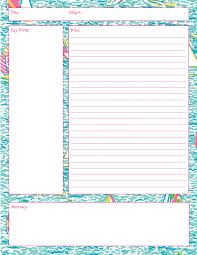 Notes Template Printable Lilly Note Taking Printables Also In First Impression Get