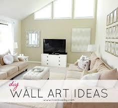 diy wall art ideas living room updates
