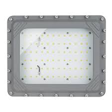 100 watt led explosion proof light class 1 div 1 and 2 hazardous locations ul1598a 13 000 lumens front view