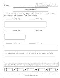 Download Free Educational Worksheets Grade Measurement For Preschool