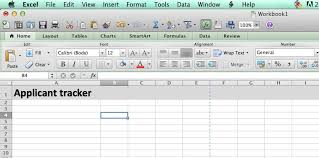 Applicant Tracking Excel Template Argacorp