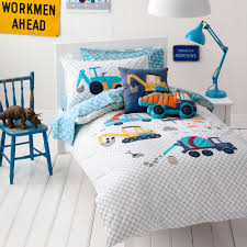 adairs kids boys danny s digger bedroom quilt covers coverlets adairs kids