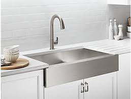 Image Undermount Kohler Kitchen Sinks Farmhouse Stainless Steel More Kohler