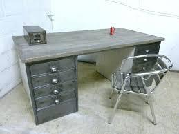 minimalist modern industrial office desk dining. Modern Metal Desk Large Size Of Steel Office Desks Minimalist Industrial Or Dining Table T