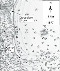 Camp Ellis Area From U S Coast And Geodetic Survey Chart 6