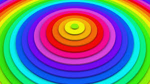 Animation Circles Bright Colorful Concentric Circles 3d Animation Seamless Loop 4k Uhd