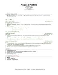 Gmail Resume Extraordinary Gmail Resume Template Student Resume Examples Graduates Format