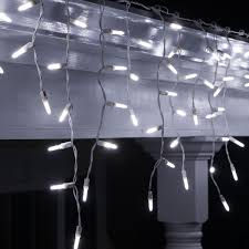 Ice White Led Christmas Lights M5 Cool White Twinkle Led Icicle Lights Led Icicle Lights