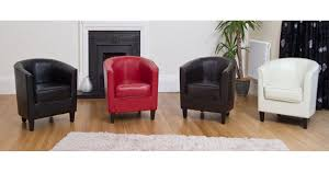 livingroom red leather tub chairs chair faux and footrest swivel real nz red faux