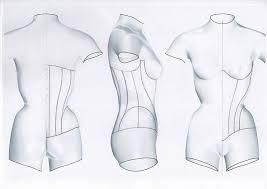 Corset Pattern Inspiration A Secret Project To Improve Corset Pattern Precision Corset Training