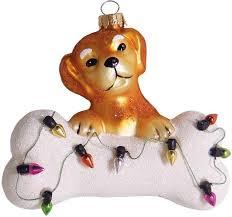 Krebs Glas Lauscha Christbaumschmuck Hund Mit Knochen Lichterkette 1 Tlg Mundgeblasen Online Kaufen Otto