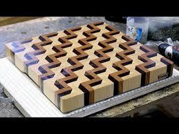 3d end grain cutting board plans. making a 3d end grain cutting board #3 3d plans g