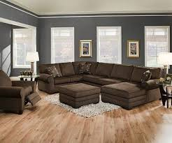 Brown Leather Sofa needs legs a different colour or be up on legs to stop it