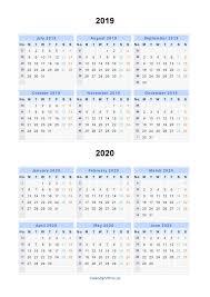 June July 2020 Calendar July 2019 July 2020 Calendar Printable Free Calendar