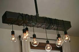 diy edison bulb chandelier
